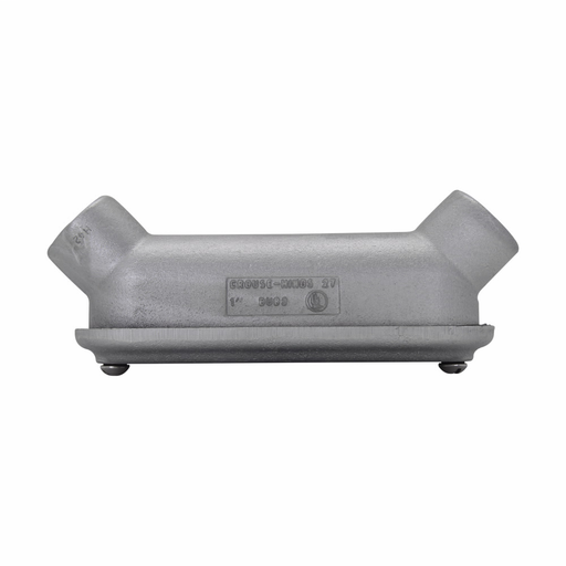 Eaton Crouse-Hinds series Condulet B mogul conduit body, Copper-free aluminum, UB shape, SnapPack gasket and cover, 3""