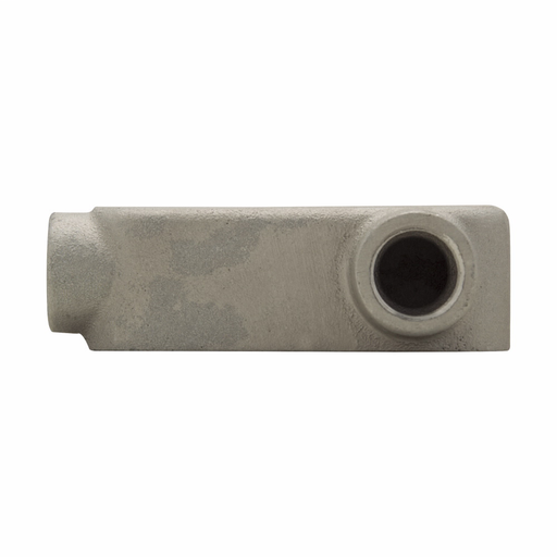 Eaton Crouse-Hinds series Condulet Mark 9 conduit outlet body, Copper-free aluminum, LR shape, 3""