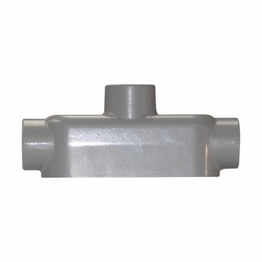 "Eaton Crouse-Hinds series Condulet Series 5 conduit outlet body, Rigid/IMC, Copper-free aluminum, TB shape, 1/2"""