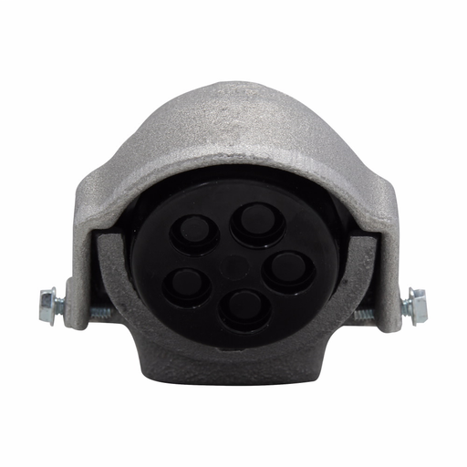 """Eaton Crouse-Hinds series F series service entrance head, Copper-free aluminum, 4"""", Threaded type"""