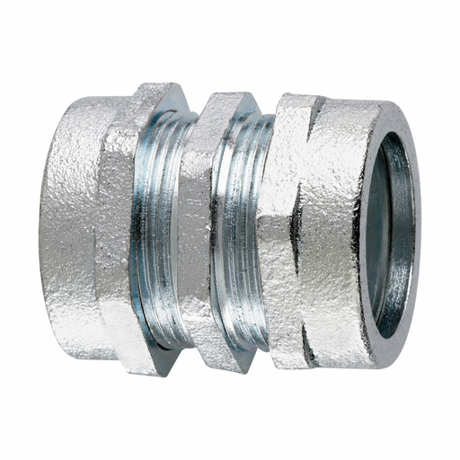 """Mayer-Eaton Crouse-Hinds series CPR compression coupling, Rigid/IMC, Malleable iron, Compression type, 3/4""""-1"""