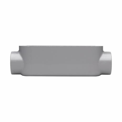 "Eaton Crouse-Hinds series Condulet Series 5 conduit outlet body, Rigid/IMC, Copper-free aluminum, C shape, 1/2"""