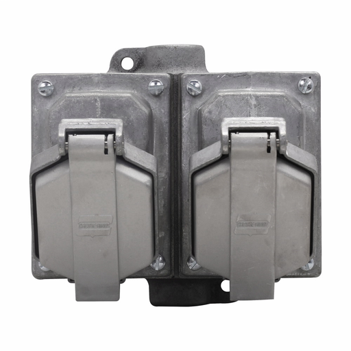 Eaton Crouse-Hinds series Arktite CPS receptacle assembly