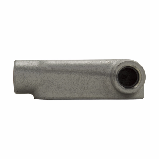 Eaton Crouse-Hinds series Condulet Form 8 conduit outlet body, Feraloy iron alloy, LR shape, 2""