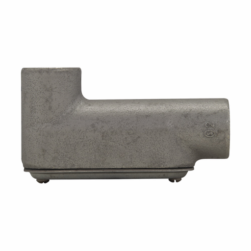 """Eaton Crouse-Hinds series Condulet Form 7 SnapPack conduit outlet body, gasket and cover, Feraloy iron alloy, LB shape, 3/4"""""""