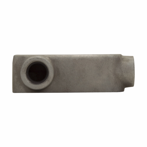 Eaton Crouse-Hinds series Condulet Mark 9 conduit outlet body, Copper-free aluminum, LL shape, 3""