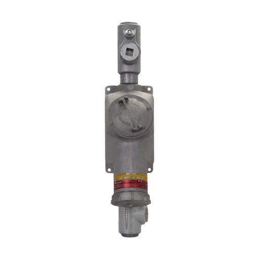 Eaton Crouse-Hinds series BHR interlocked receptacle with switch