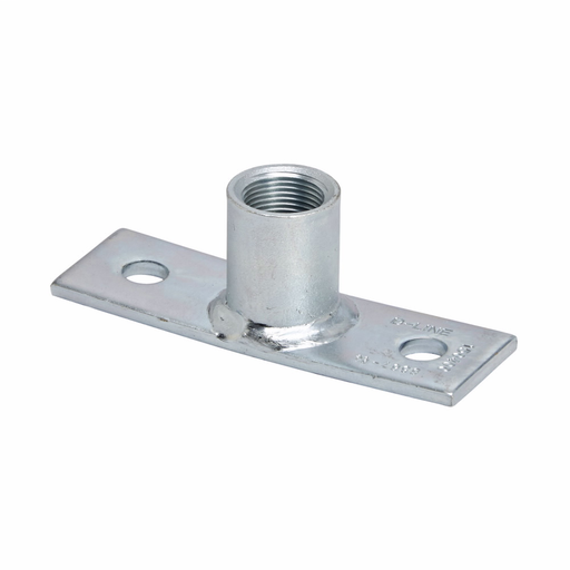 Eaton B-Line series strut fittings and accessories - Length 5.37 in, Width 1.62 in, Height 2.68 in - Steel