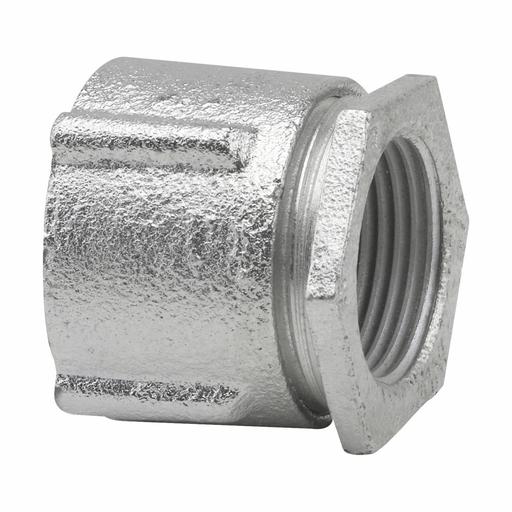 "Eaton Crouse-Hinds series three-piece conduit coupling, Rigid/IMC, Malleable iron, Concrete tight, 3"""