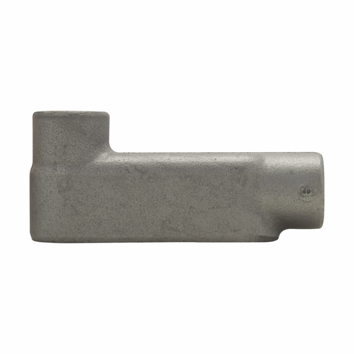 Eaton Crouse-Hinds series Condulet Form 8 conduit outlet body, Feraloy iron alloy, LB shape, 3/4""