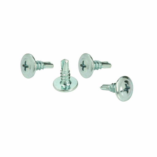 """Mayer-Eaton B-Line series cable support fasteners, Steel, #8 X 1/2"""", Self-drilling sheet metal screw-1"""