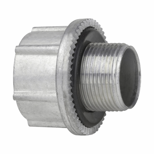 """Eaton Crouse-Hinds series Myers metric to NPT adapter, Zinc, M20 - 1/2"""""""
