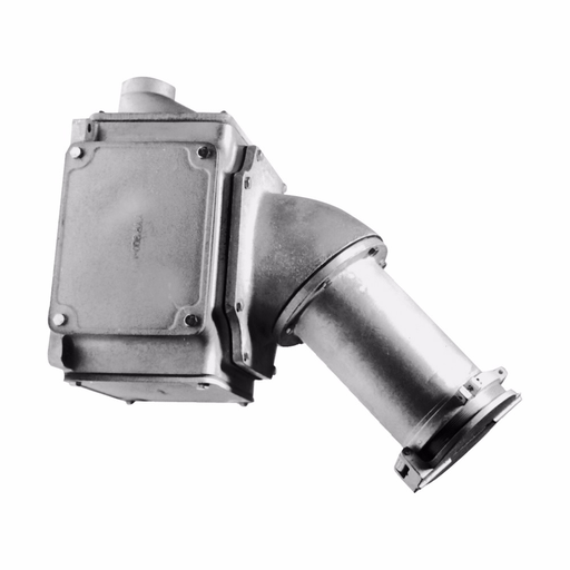 """Eaton Crouse-Hinds series Arktite AREX receptacle assembly, 400A, Three-wire, four-pole, 50-400 Hz, Style 2, Copper-free aluminum, Spring door, 4"""", 600 Vac/250 Vdc, 1.25"""""""