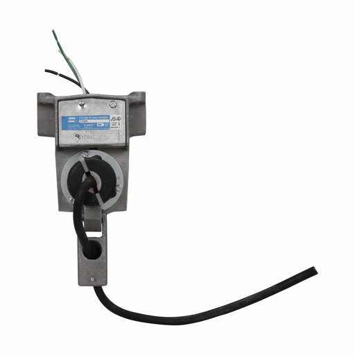 "Eaton Crouse-Hinds series FHM power hook fixture hanger, 125 lb, 3/4"" luminaire stem size, Copper-free aluminum, Pendant mount, Plain loop, two-wire, three-pole, 3/4"", 14A, 480V"