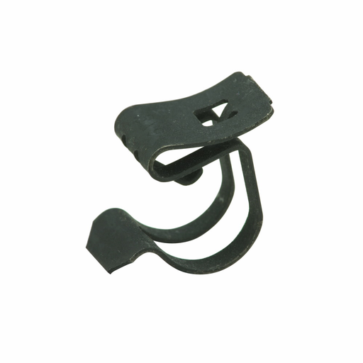 """Mayer-Eaton B-Line series cable support fasteners, Conduit and cable, Flange, 1"""" Height, 1"""" Length, 1"""" Width, 0.014lbs, Flexible conduit fastener, .16"""" Max mount size, .42"""" Min cable diameter, 0.7"""" Max cable diameter, Zinc plated-1"""