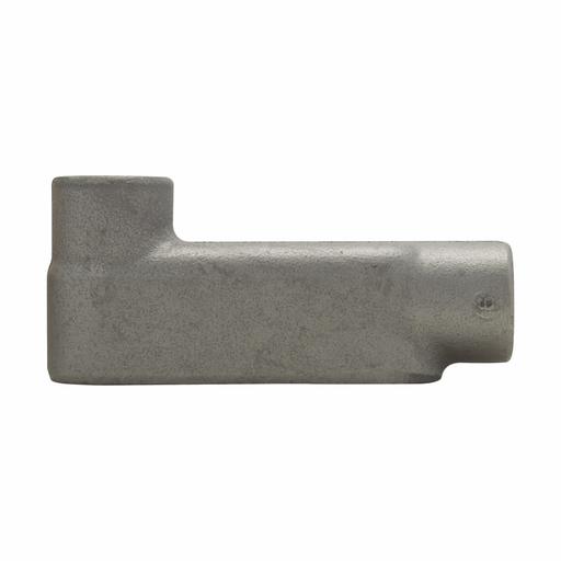 "Eaton Crouse-Hinds series Condulet Form 8 conduit outlet body, Feraloy iron alloy, LB shape, 3/4"""