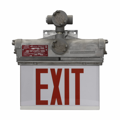 Eaton Crouse-Hinds series EXL lamp receptacle, Used with EXL series exit signs