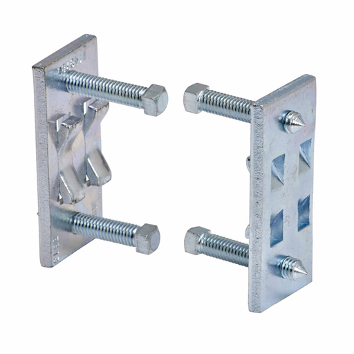 """Mayer-Eaton B-Line series beam clamps, 800 lb, Steel, Used with (B52) and (B54) channel, Column support for B22, 3/8"""" screw size, Electro-plated zinc-1"""