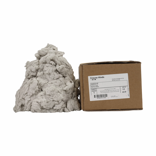 Mayer-Eaton Crouse-Hinds series Chico X fiber sealing compound, Mineral wool, 8 oz-1