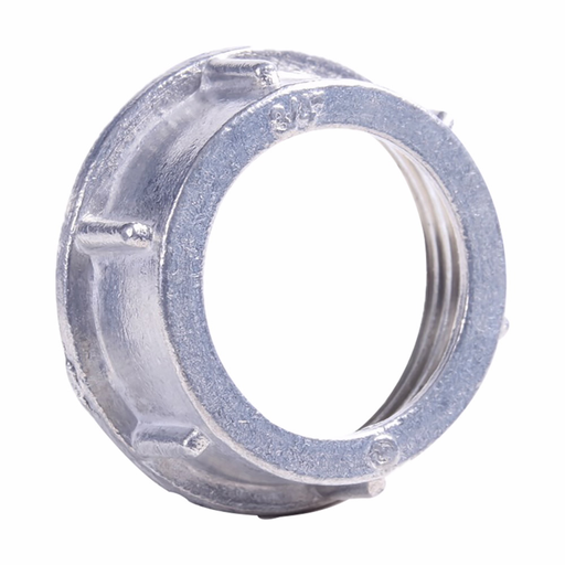 "Eaton Crouse-Hinds series throat bushing, Rigid/IMC, Insulated, Malleable iron, 105°C, Threaded, 1/2"""