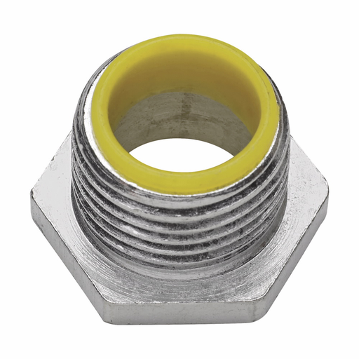 """Eaton Crouse-Hinds series conduit bushed (chase) nipple, Rigid/IMC, Insulated, Malleable iron, 1-1/2"""""""