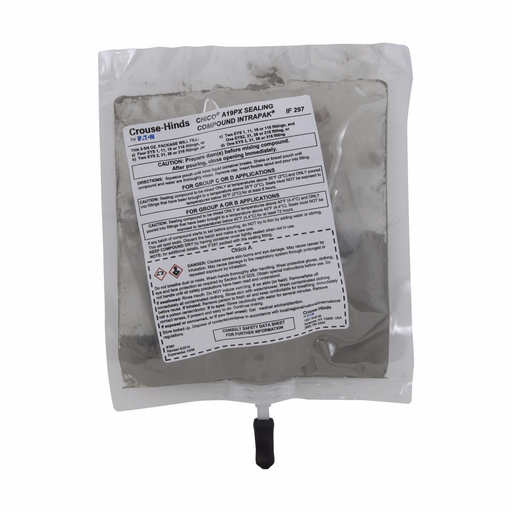Mayer-Eaton Crouse-Hinds series Chico A-P Intrapak sealing compound, 5 Cu In, 5 pouches per carton-1