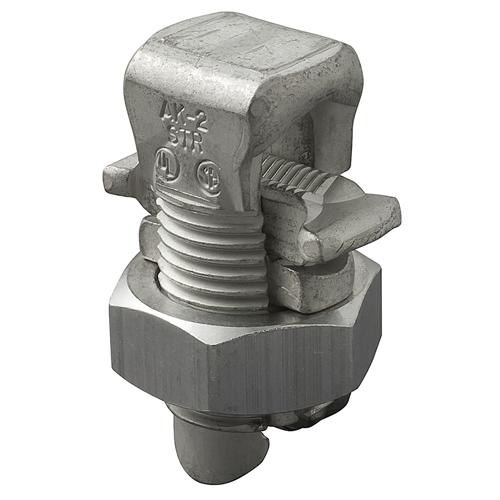 ILSCO AK-2/0 UL/CSA Listed 2/0-2 AWG Main Range 2/0-8 AWG Tap Range Aluminum Split Bolt