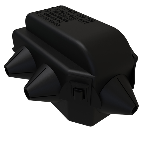 ILSCO GTA-250-0-W/C TAP&CVR
