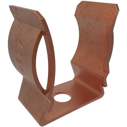 Bronze Fuse Clip, 1/4 Bolt Size, 60 Amps, 600 V, Fuse Stop