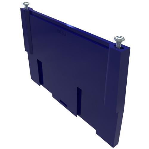 Side Plate with 2 screws for LDA/LDB Power Distribution Blocks