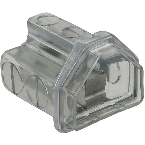 Cleartap Insulated Aluminum Multi-Tap Connector, Dual Rated, Conductor Range 350-6, 8 Ports, Tin Plated, UL, CSA