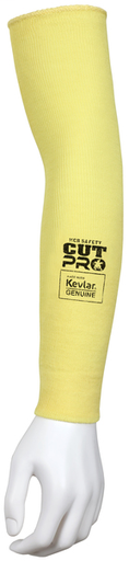 MCR Safety Cut Pro® 7 Gauge DuPont™ Kevlar® Competitive Value (CV) Cut Resistant Sleeves Bar Tack Thumb 18 Inches x 2 1/4 Inches