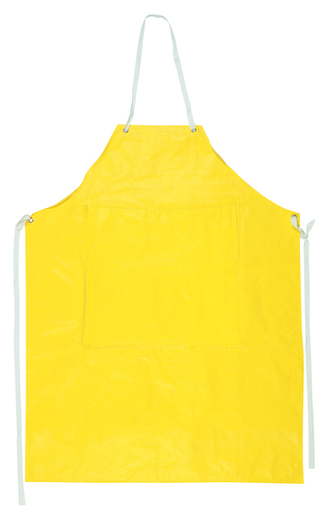 Concord Series .35mm Neoprene / Nylon Apron Measures 35 Inches x 45 Inches with Sewn Edges