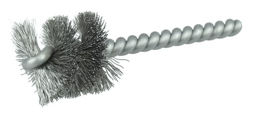 """1"""" Power Tube Brush, .008"""" Stainless Steel Wire Fill, 1"""" Brush Length"""