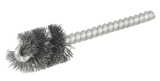 """3/4"""" Power Tube Brush, .006"""" Steel Wire Fill, 1"""" Brush Length"""