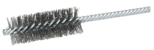"""1"""" Power Tube Brush, .0104"""" Steel Wire Fill, 2-1/2"""" Brush Length"""