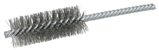 """1"""" Power Tube Brush, .0104"""" Stainless Steel Wire Fill, 2-1/2"""" Brush Length"""