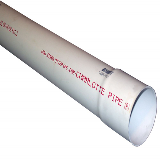 3 x 10 PVC 2729 SEWER PIPE BELLED END