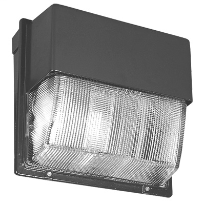 LITH TWH400MTBSCWALPI 400W METAL HALIDE GLASS LENS LARGE WALL-PACK