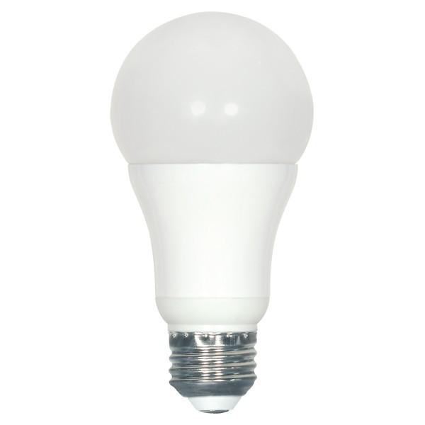 7 watt A19 LED; 2700K; 215' beam spread; Medium base; 120 volts