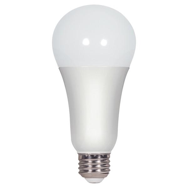 15.5 watt; A21 LED; Frosted; 5000K; Medium base; 220' beam spread; 120 volts