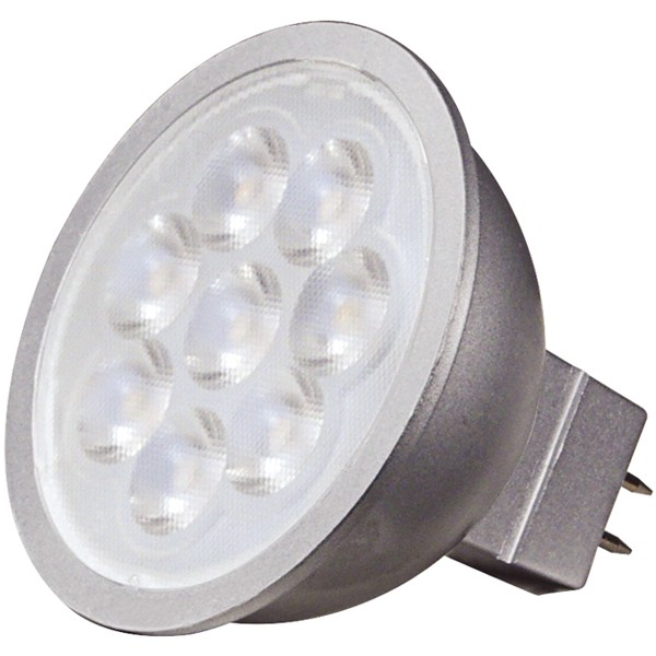 6.5W; LED MR16 LED; 4000K; 40 deg. beam spread; GU5.3 base; 12V AC/DC