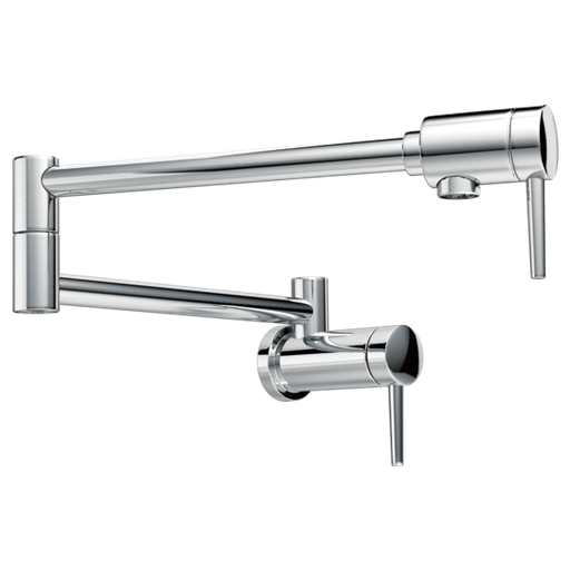 Delta Contemporary Wall Mount Pot Filler - Chrome