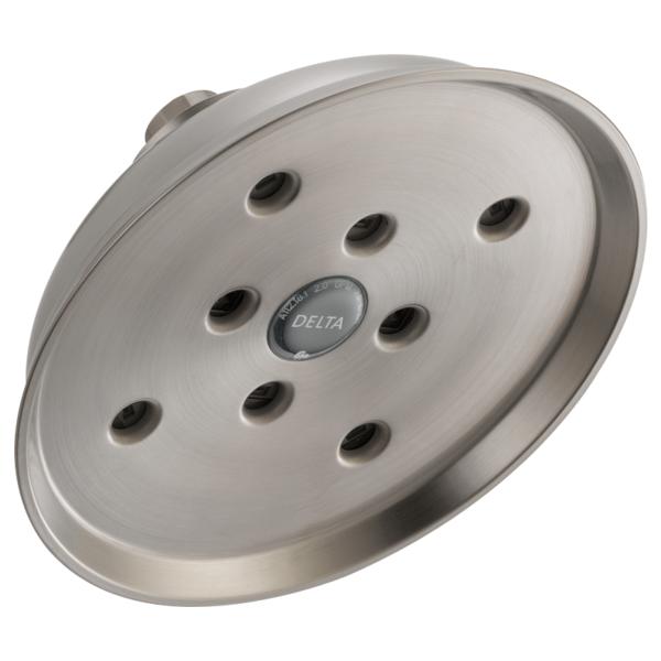 H2Okinetic Single-Setting Raincan Shower Head - Stainless