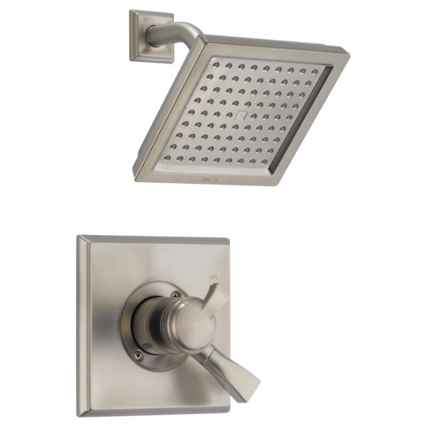 DELTA® T17251-SP Monitor® 17 Shower Trim, 2.5 gpm Shower, SpotShield® Stainless Steel