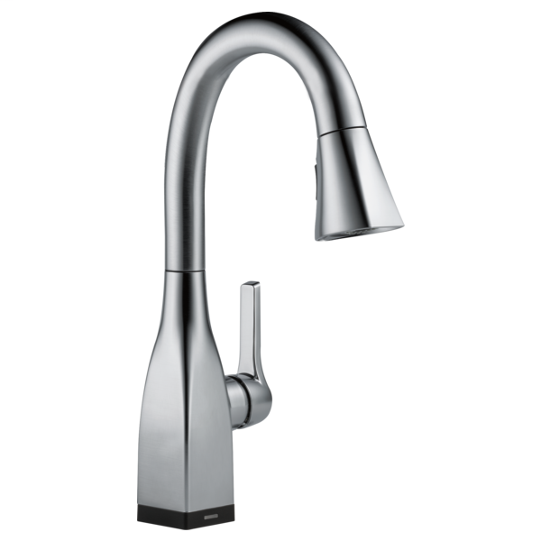 Mateo Single Handle Pull-Down Bar / Prep Faucet with Touch2O Technology - Arctic Stainless