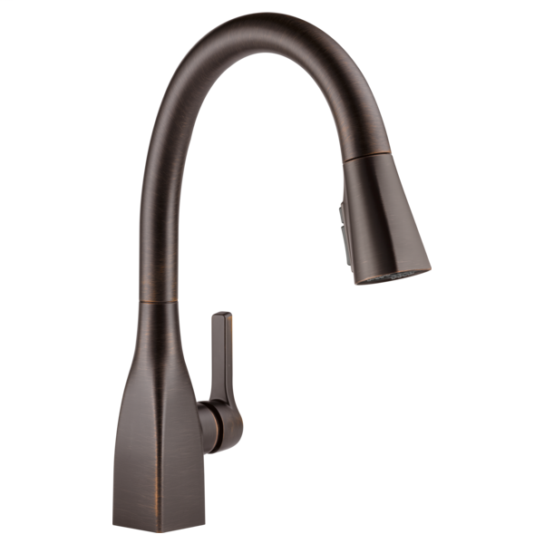Mateo Single Handle Pull-Down Kitchen Faucet with ShieldSpray Technology - Venetian Bronze