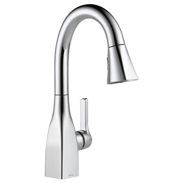 Mateo Single Handle Pull-Down Bar / Prep Faucet - Chrome