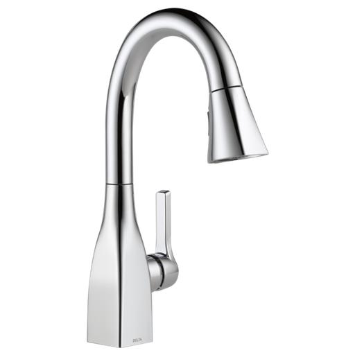 Mateo Single Handle Pull-Down Bar / Prep Faucet - Chrome
