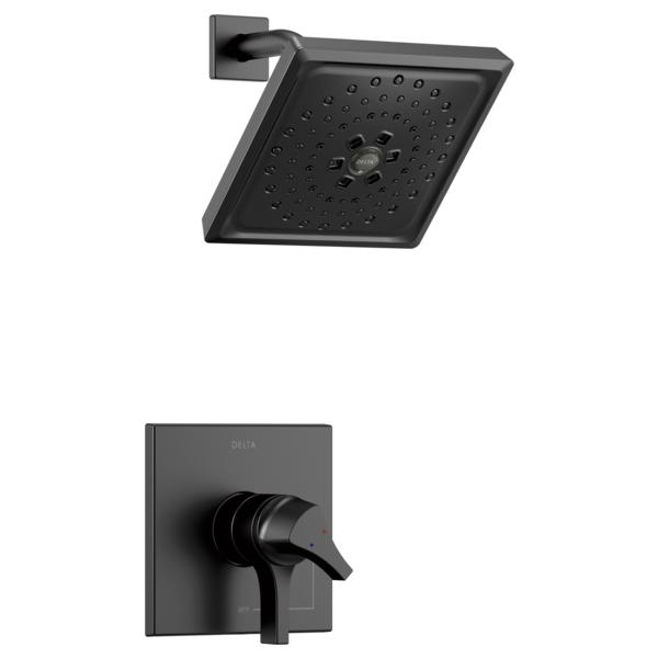 DELTA® T17274-BL 17 Series Shower Trim, 1.75 gpm Shower, Matte Black